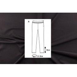 Pakket Legging van Punti Roma Zwart 00835 zwart 069 en Burda 6251