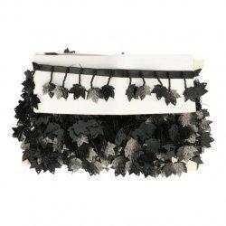 Band met hangend esdoornblad zwart