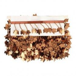 Band met hangend esdoornblad bruin 16-04
