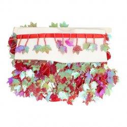 Band met hangend esdoornblad Rood Groen 16-11