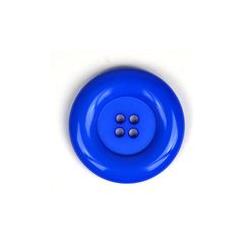 Knoop Dill 50mm  blauw