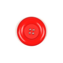 Knoop Dill 50mm rood