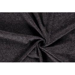 Jersey Gemeleerd 50%CO / 50%PL 13429 zwart 069