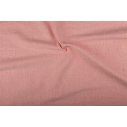 Bio-gewassen linnen 02155 roze 012