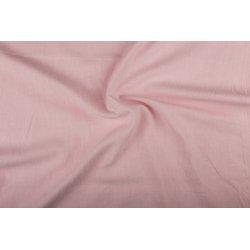 Bio-gewassen linnen 02155 roze 011