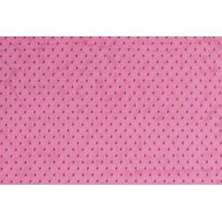 Tule met kleine stippen 13160 roze 017