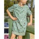 LET OP KIES ANDERE KLEUR Stof voor jurkje model P1052 uit BTrendy voorjaar zomer 2020 art 13048 groen 022