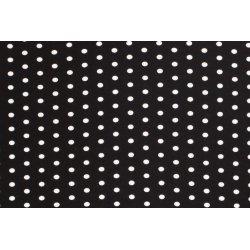 Viscose Stretch Stip 13422 zwart 069