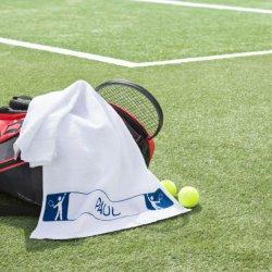Tissu de Marie Borduurpakket sporthanddoek Tennis 50x100cm