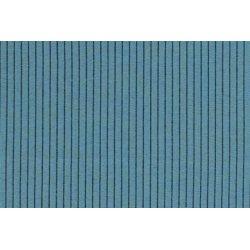 Katoen POLY RIB MELANGE Streep 13442 blauw 004