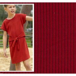 Stof voor jurkje model P1050 uit BTrendy voorjaar zomer 2020 13442 rood 037