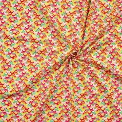 POLY DECO PRINT Cirkels 1509 roze 013