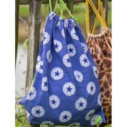 Softshell met ster 13135 blauw 006