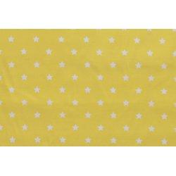 Dapper Katoen Sterren 13102 geel 035