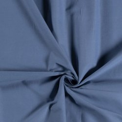 Katoen Voile Uni 03649 blauw 006