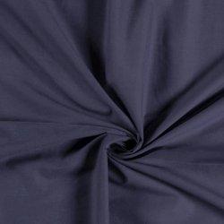 Katoen Voile Uni 03649 blauw 007