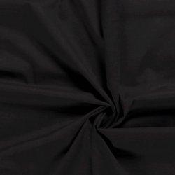 Katoen Voile Uni 03649 zwart 069