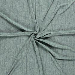 Badstof Stretch Visgraat 13602 groen 021