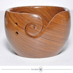 Durable houten yarn bowl 020.1064