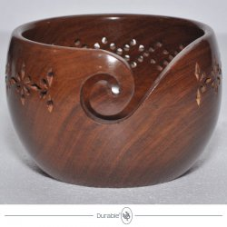 Durable houten Yarn Bowl 020.1066