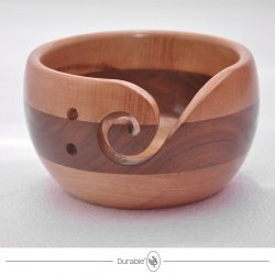 Durable houten Yarn Bowl 020.1067