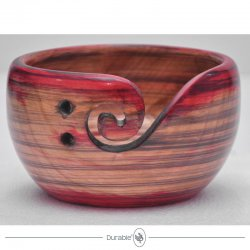 Durable houten Yarn Bowl 020.1068