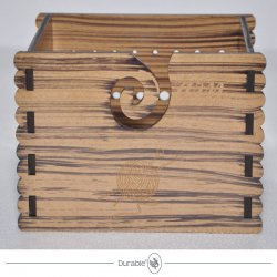 Durable MDF hout Yarn Box 020.1072
