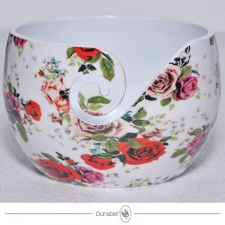 Durable Aluminium Yarn Bowl Roses 020.1073
