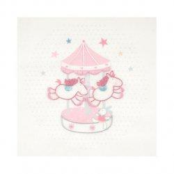 DMC Baby Stars borduurkit Carrousel 14x14cm  TB119