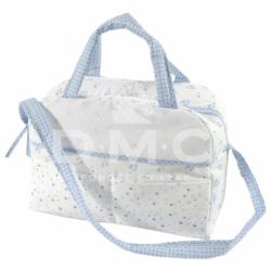 DMC Baby Stars luiertas blauw 38x42x19cm RS2631-BLAUW
