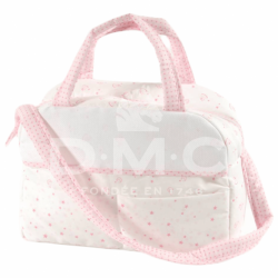 DMC Baby Stars luiertas roze 38x42x19cm RS2631-ROZE
