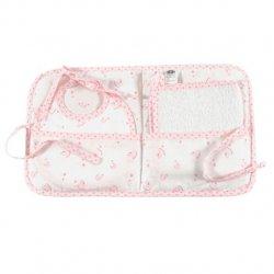 DMC Baby Stars cadeau etui roze 18x22cm RS2634-ROZE