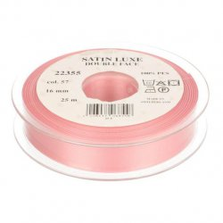 Satijn Luxe Double Face band - Lint Roze 0057