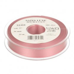 Satijn Luxe Double Face band - Lint Roze 0077