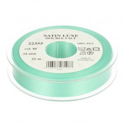 Satijn Luxe  Double Face band - Lint Groen 0086