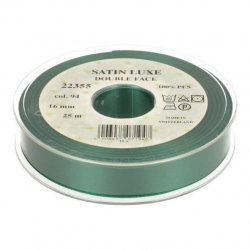 Satijn Luxe  Double Face band - Lint Groen 0094