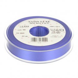 Satijn Luxe  Double Face band - Lint Paars 0096