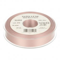 Satijn Luxe Double Face band - Lint Roze 0254