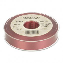 Satijn Luxe  Double Face band - Lint Roze 0267