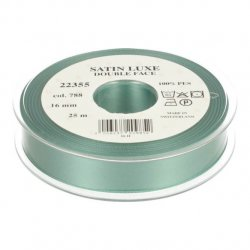 Satijn Luxe  Double Face band - Lint Groen 0788