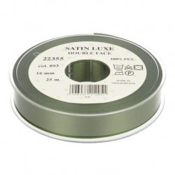 Satijn Luxe  Double Face band - Lint Groen 0893