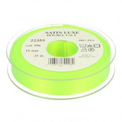 Satijn Luxe Double Face band - Lint Groen 0996