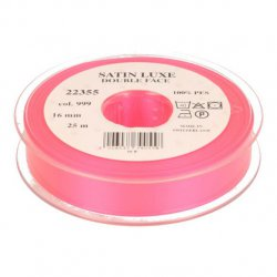 Satijn Luxe Double Face band - Lint Roze 0999