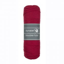 Durable Double Four Katoen 010.69 Bordeaux 222
