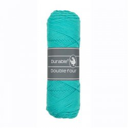 Durable Double Four Katoen 010.69 Aqua 338