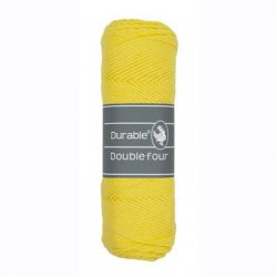 Durable Double Four Katoen 010.69 Bright Yellow 2180