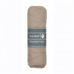 Durable Double Four Katoen 010.69 Taupe 340