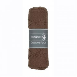 Durable Double Four Katoen 010.69 Chocolate 2229