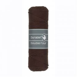 Durable Double Four Katoen 010.69 Dark Brown 2230