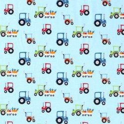 Tricot Tractors 13664 Licht Blauw 003
